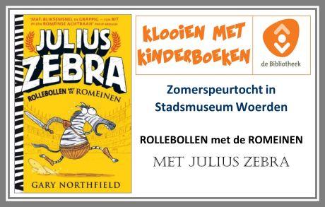 Zomerspeurtocht met Julius Zebra- Rollenbollen met de Romeinen