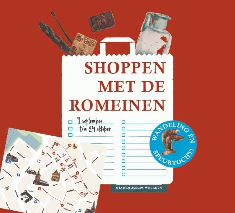 Openluchttentoonstelling Shoppen met de Romeinen