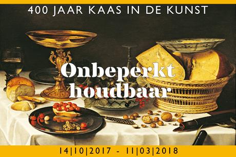 Tentoonstelling stadsmuseum Woerden: ONBEPERKT HOUDBAAR             400 jaar kaas in de kunst