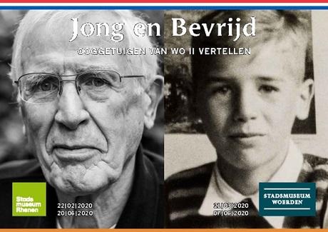 Tentoonstelling stadsmuseum Woerden: Jong en Bevrijd, ooggetuigen van WO II vertellen