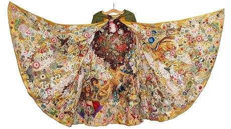 Tentoonstelling stadsmuseum Woerden: In den Vreemde, Tien textielkunstenaars en de reizen van Bonifatius